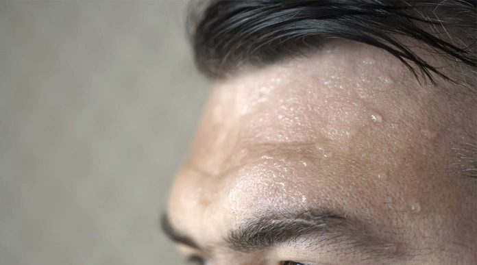 sudore trapianto capelli